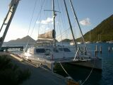 PatiCat catamaran in Tortola, Soper's Hole, BVI