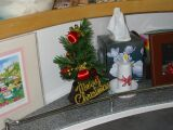 Christmas tree on board PatiCat catamaran
